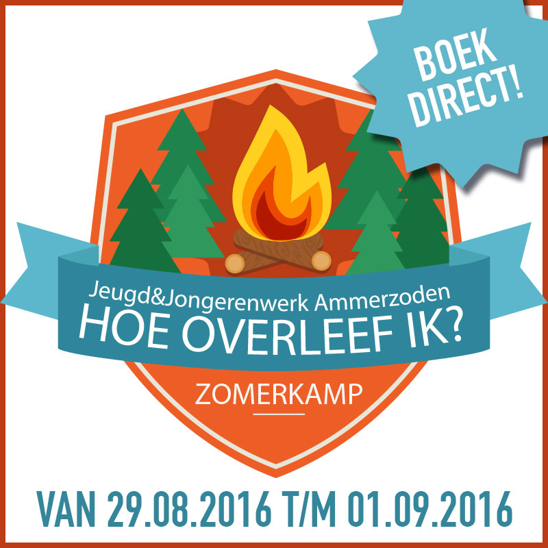 Boek nu Zomerkamp 2016 - Jeugd en jongerenwerk Ammerzoden