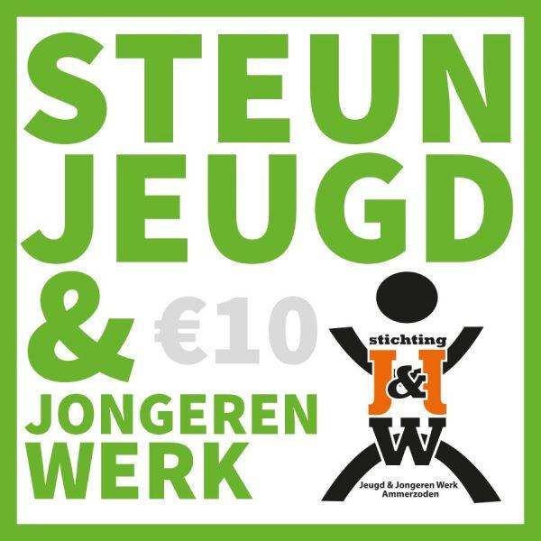 Steun Jeugd en Jongerenwerk met €10,-