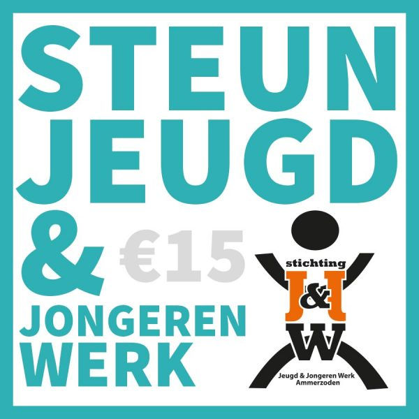 Steun Jeugd en Jongerenwerk met 15 euro